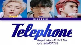 [INDO SUB] EXO - SC 세훈&찬열 '척 (Telephone) (Feat. 10CM)' lyrics color coded Han/Rom/Ina