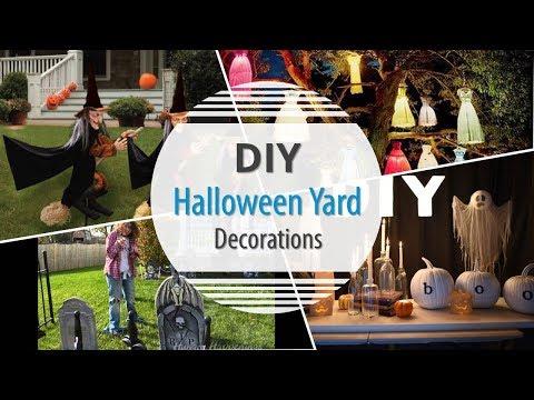 DIY Halloween Yard Decorations 2017