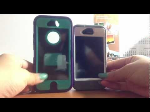 Unboxing Otterbox Iphone 5 Defender Case Purple & Teal ♡