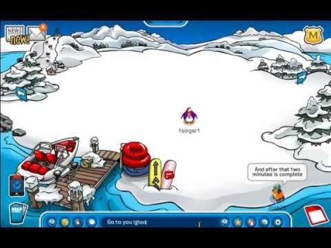 Club Penguin - Tutorial On How to Reach Rockhopper's Island! *Updated November & December 2013