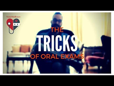 3 Amazing Tricks for Oral Examination in Medicine!!!