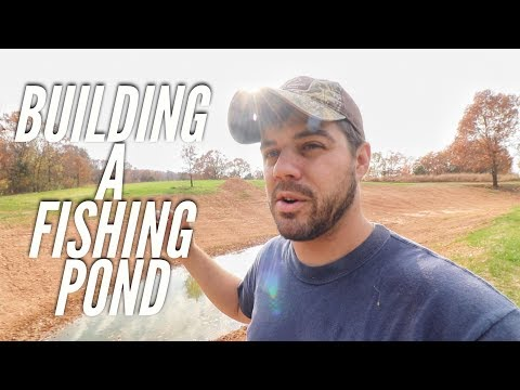 Building A Fishing Pond for Dad  S8 #49