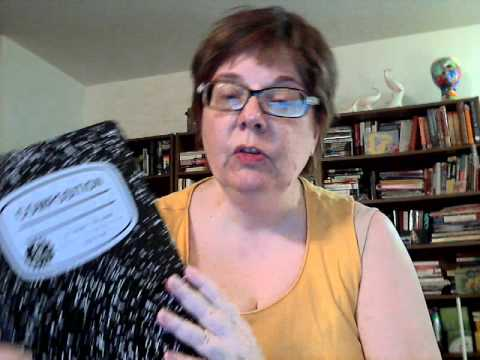 Composition book to art journal.wmv