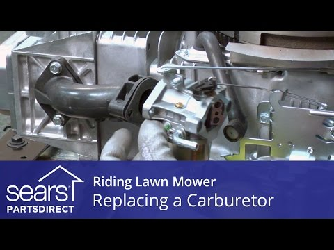 Replacing a Carburetor on a Riding Lawn Mower