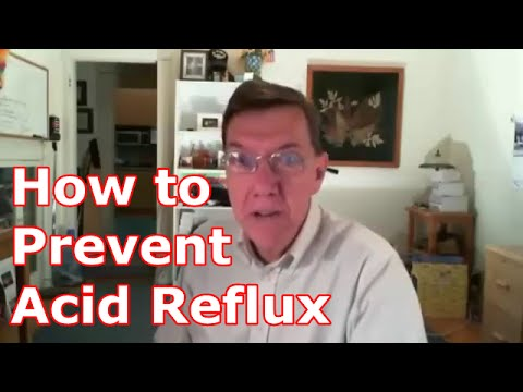 How to Prevent Acid Reflux : Treatment of Gastric Reflux