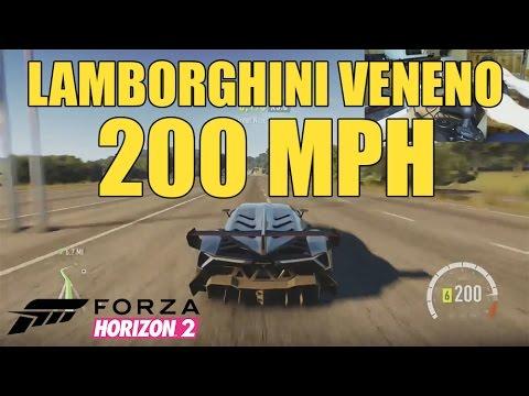 Forza Horizon 2 - Lamborghini Veneno drive [with wheelcam]