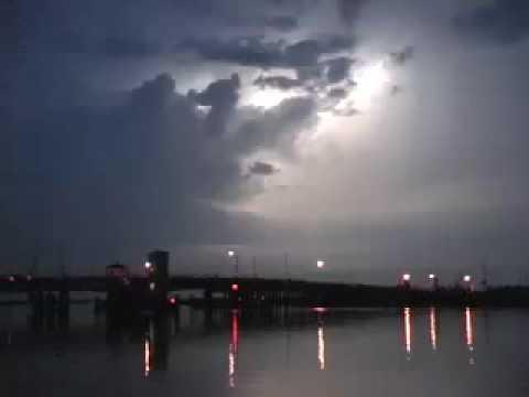 Lightning over the Bay, Ocean City, NJ Part 1