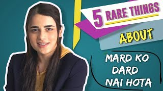 Radhika Madan Reveals 5 Rare Things About Mard Ko Dard Nahi Hota | Exclusive Interview