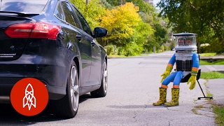 How a Robot Hitchhiked Across Canada
