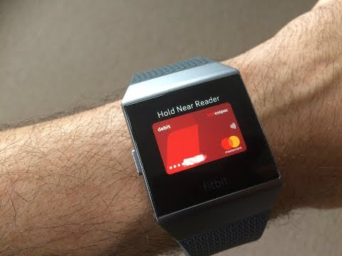 How to pay with Fitbit Ionic