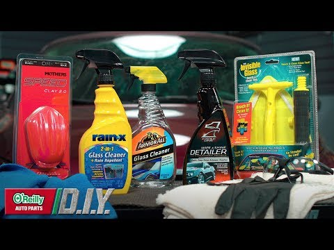 How To: Clean Your Vehicle's Windshield Inside & Out