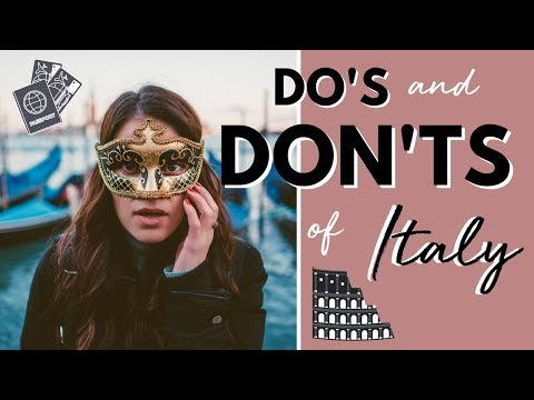 What you MUST KNOW before visiting Italy | Rome, Venice, Naples