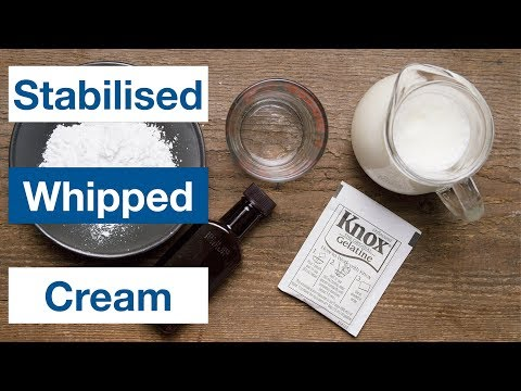 Stabilised Whipped Cream -Homemade Cool Whip- || Le Gourmet TV Recipes