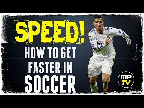 SPEED!  how to get faster in soccer / football training (how to run) MPTV SHORT
