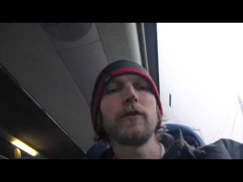 Aircoach Bus from Dublin Airport to Belfast in Northern Ireland   February 2015