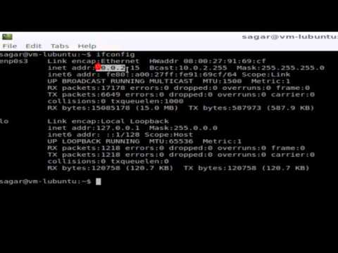 How to find ip address in Linux
