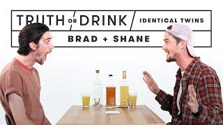 Identical Twins Play Truth Or Drink (brad & Shane) | Truth Or Drink | Cut