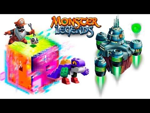 Pandalfio Blockheart Glitch Videogames Maze Island Monster Legends