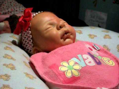feeding shy real baby custard