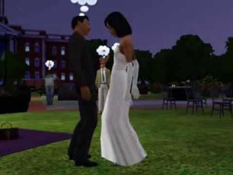 sims 3 wedding