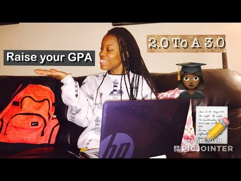 How I raised my GPA from a 2.0 to a 3.0 in College
