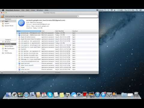 How to find your network password on a mac