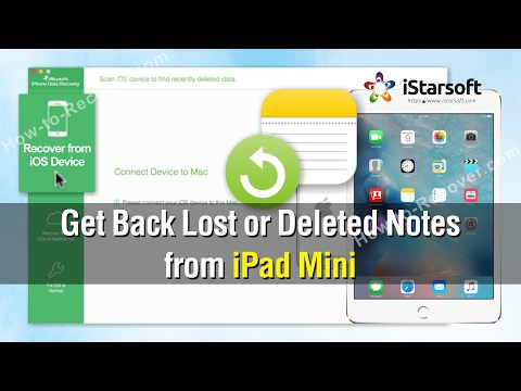How to Get Back Lost or Deleted Notes from iPad Mini