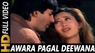 Awara Pagal Deewana | Alka Yagnik, Kumar Sanu | Lahoo Ke Do Rang 1997 Songs | Akshay Kumar