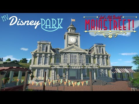 CITY HALL! | My Disney Park in Planet Coaster [S1:EP2]