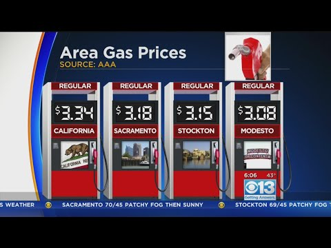 Gas Prices Continuing To Climb Across California