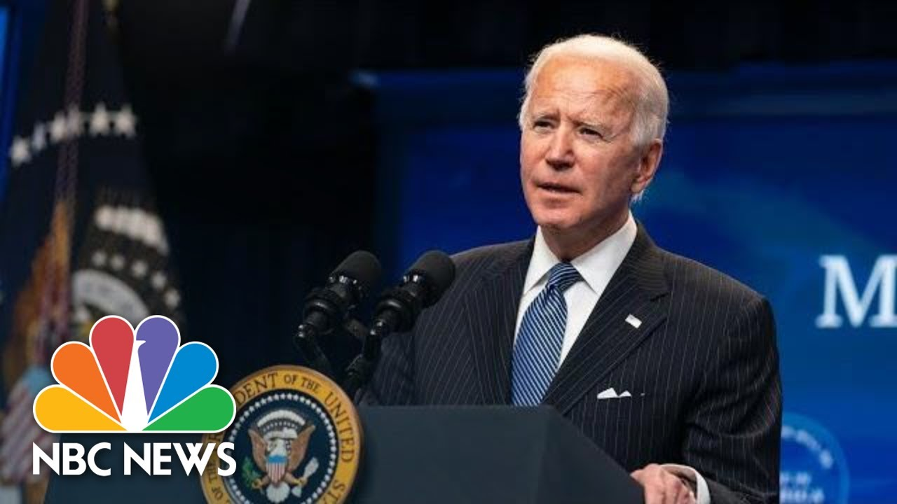 Biden Delivers Remarks At FEMA Covid Vaccination Facility   NBC News