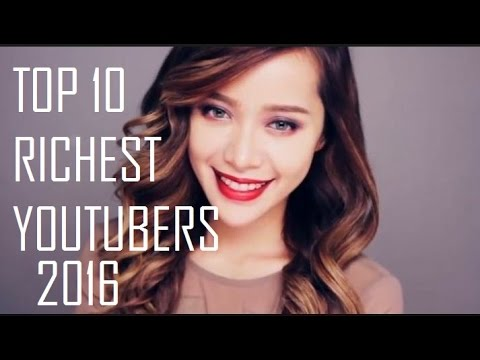 Top 10 Most Popular Youtubers in the World 2016