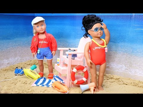 Our Generation Lifeguard Doll & Chair Play Set Review