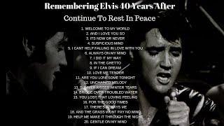 20 BEAUTIFUL ELVIS PRESLEY SONGS WE ALL LOVE