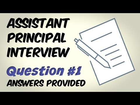 Assistant Principal Interview Question 1