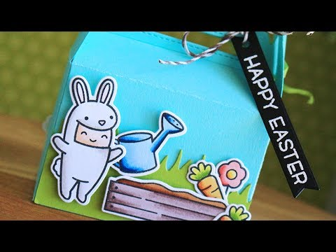 How to make Easter treat boxes