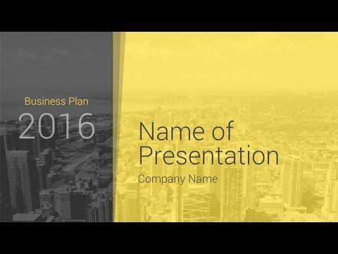 Modern Business Plan PowerPoint Template - PresentationDeck com
