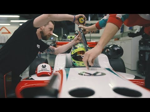 BTS: the making of a racing seat by Real Equipe - featuring Mick Schumacher