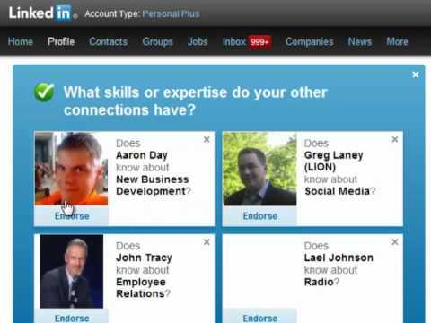 New LinkedIn Feature: LinkedIn Endorsements