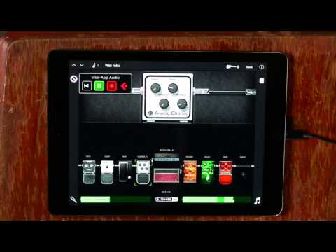 Recording Electric Guitar with Sonic Port VX Audio Interface   Line 6