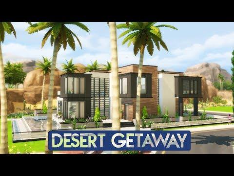 Sims 4 | House Building | Desert Getaway