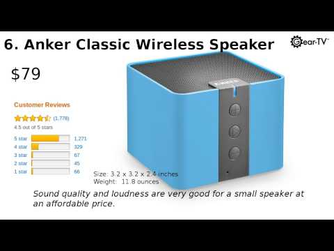 10 Best Reviewed Bluetooth Speakers (2015)