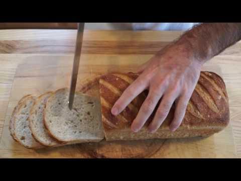How to Make Sourdough Pan Bread