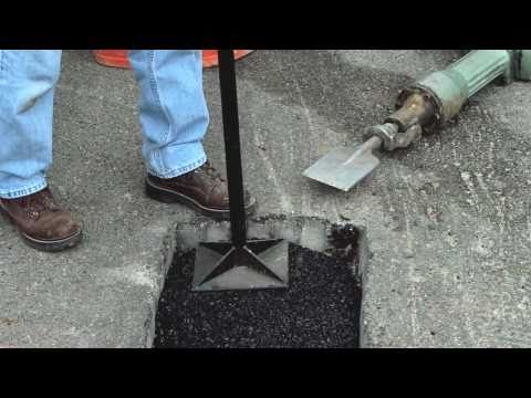 How to Make Permanent Pothole Repairs with QUIKRETE®