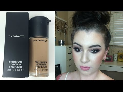 FIRST IMPRESSION | Mac Pro Longwear Foundation!