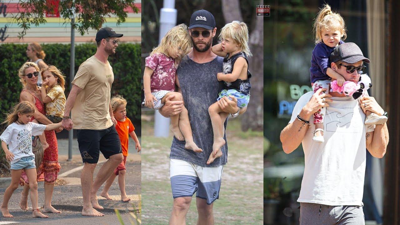 Chris Hemsworth Roasting His kids   Thor AKA Chris Hemsworth Hilarious Moments With His Kids   2020