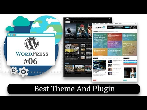 Best Theme And Plugin For Your Website | How to Make a Website #06
