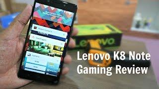 Lenovo K8 Note Gaming Review, Temperature Check