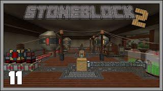 Stoneblock 2 - EP20 - Void Ore Miner Tier 2 & Mekanism