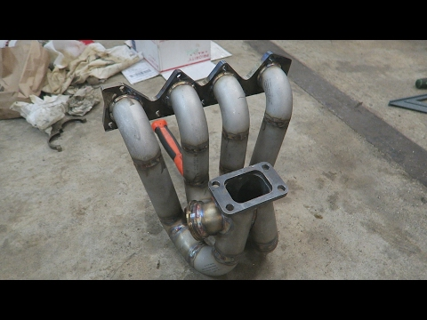 First Turbo Manifold I Have Ever Made